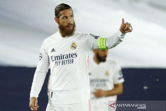 Ramos absen perkuat Real Madrid saat hadapi Inter Milan