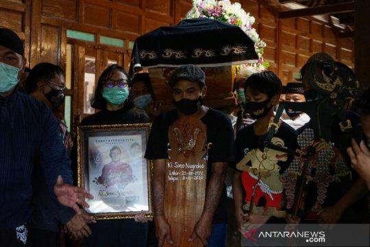 Dalang Ki Seno Nugroho wafat
