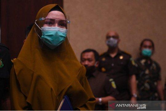 Pinangki cerita pertemuan dengan Djoko Tjandra ke sesama jaksa