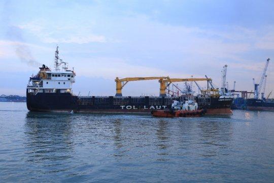 Lima tahun operasikan tol laut, Pelni distribusikan 22 ribu TEUs