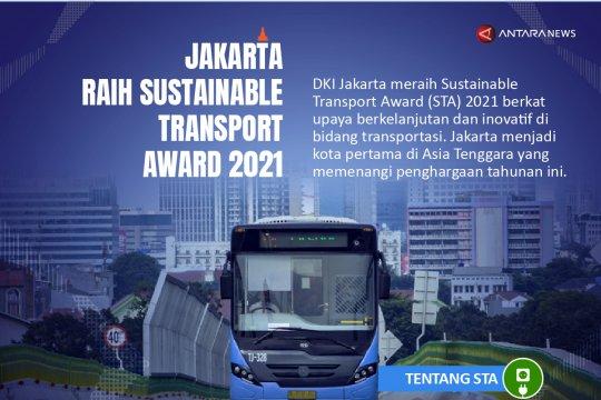 Jakarta raih Sustainable Transport Award 2021