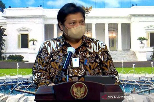 Menko Airlangga: Seperti RI, ekonomi global mulai pulih dari pandemi