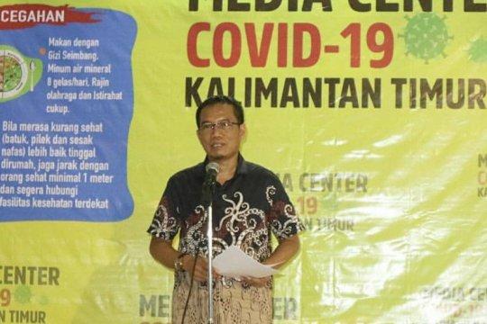 Kembali melonjak, positif COVID-19 Kaltim bertambah 307 kasus