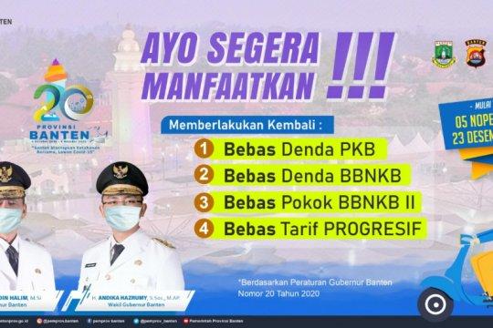 Pemprov Banten bebaskan denda pajak kendaraan hingga akhir 2020