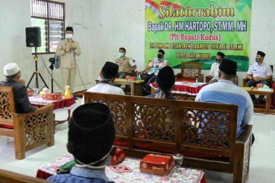 Pondok pesantren di Kudus-Jateng dapat bantuan APD cegah COVID-19