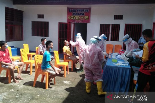 59 warga binaan LP Padang dinyatakan negatif COVID-19