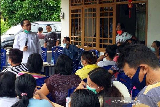 Peserta Pilkada Bangka Tengah kampanyekan protokol kesehatan COVID-19