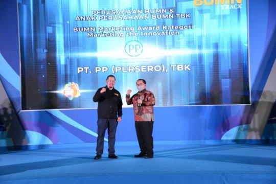PT PP raih dua penghargaan BUMN Branding & Marketing Awards 2020