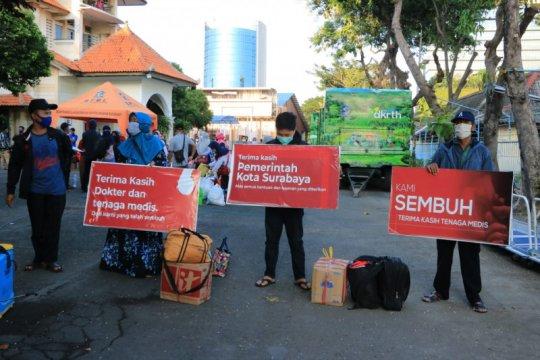 Seratus kelurahan di Surabaya nol kasus COVID-19