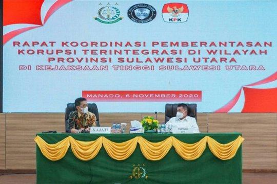 KPK koordinasi dengan APH di Sulut sinergi pemberantasan korupsi