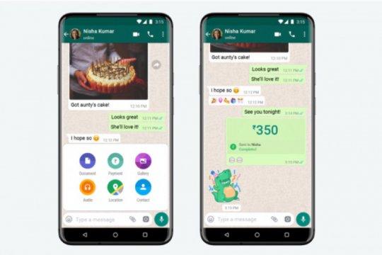 WhatsApp luncurkan layanan pembayaran di India