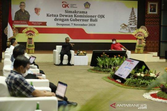Wimboh diskusikan upaya pemulihan ekonomi Bali dengan gubernur