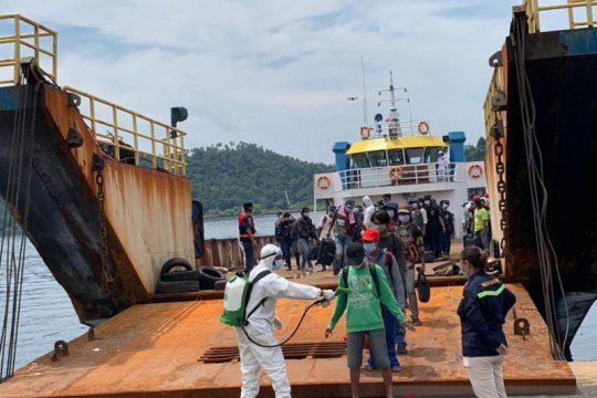 Ratusan WNI yang bekerja di kapal ikan China dipulangkan ke Tanah Air