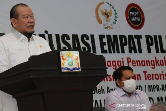 Ketua DPD RI sebut tak ada agama setujui radikalisme dan terorisme