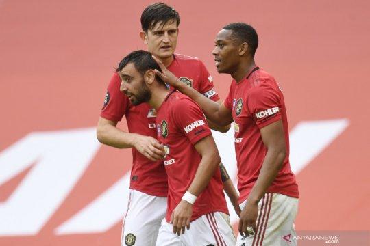 Manchester United kena serangan siber jelang laga lawan West Brom