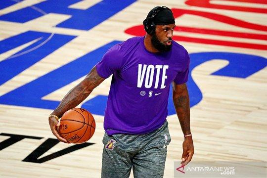 LeBron James, Megan Rapinoe, atlet AS sambut kemenangan Biden