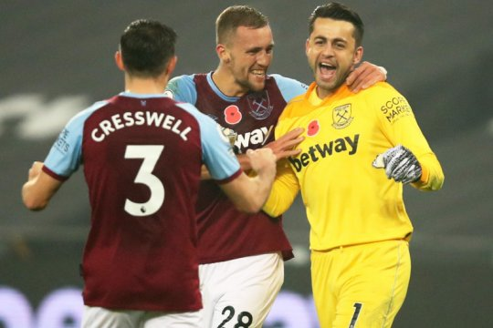 West Ham taklukkan Fulham 1-0 berkat jasa Tomas Soucek