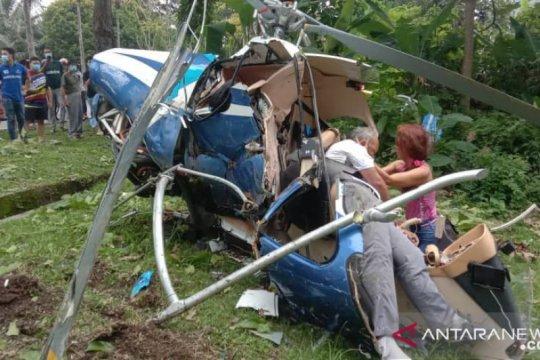 Helikopter jatuh di Malaysia, dua diduga meninggal
