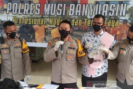Polres Musi Banyuasin tembak mati seorang bandar narkoba