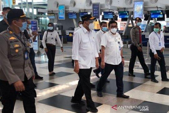 Menhub tinjau Bandara Kualanamu apresiasi penerapan protokol kesehatan