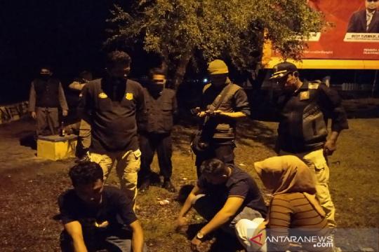 Pasangan khalwat dan pesta minuman keras di Banda Aceh diamankan WH