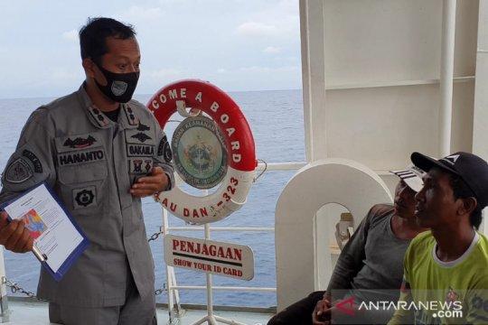 Bakamla lakukan sosialisasi kepada nelayan soal kondisi cuaca buruk