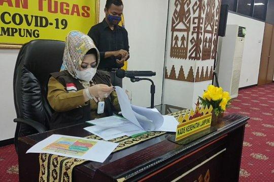 Dinkes: Kasus COVID-19 di Lampung bertambah 60, selesai isolasi lima