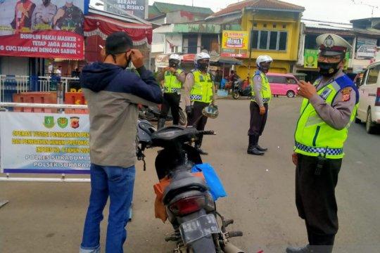 Operasi pengawasan protokol kesehatan di Sukabumi diperpanjang