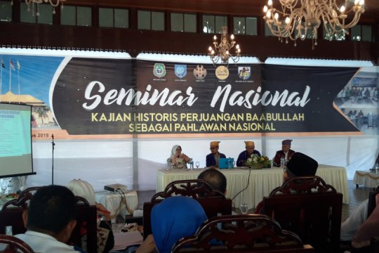 Pemprov Malut apresiasi Sultan Baabullah jadi pahlawan nasional