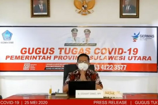 Kasus COVID-19 di Sulut melonjak, Manado penyumbang terbanyak