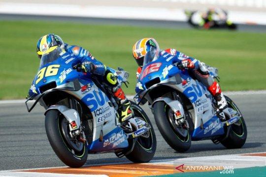 Mir raih kemenangan MotoGP perdananya, Suzuki finis 1-2 di GP Eropa