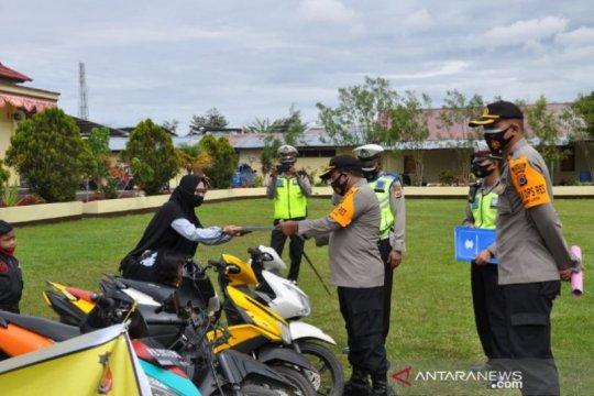 Polisi Jayawijaya tangkap dan kembalikan 204 sepeda motor curian