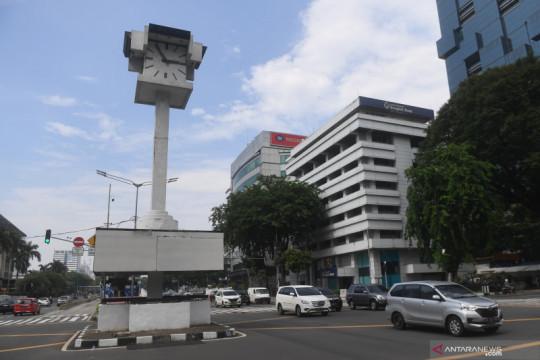 MRT pindahkan Tugu Jam Thamrin pada Oktober 2021