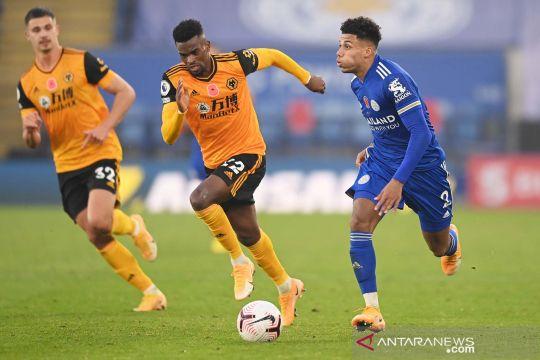 Liga Inggris: Leicester City kalahkan Wolverhampton Wanderers 1-0