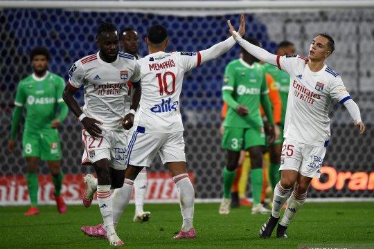 Tinotenda Kadewere bawa Lyon bangkit untuk atasi Saint-Etienne