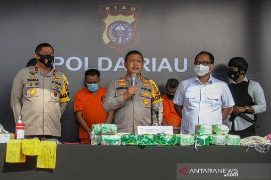 Polda Riau tangkap sindikat pemilik 20 kg sabu-sabu
