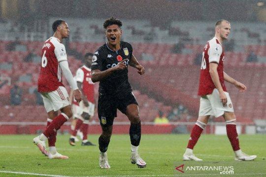 Aston Villa permalukan Arsenal di Emirates