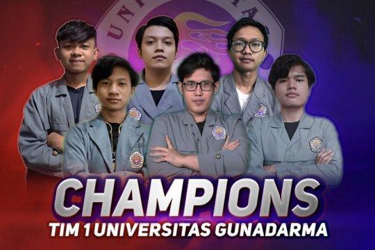 Gunadarma juarai MLCC LIMA Esports wilayah Jakarta