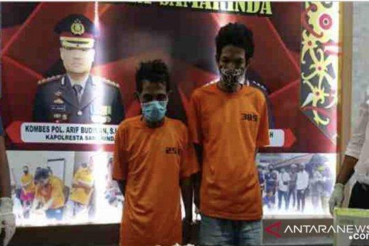 Polresta Samarinda gagalkan pengiriman 1 kg sabu-sabu