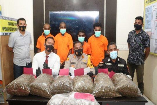 Perairan Jayapura rawan penyelundupan narkotika dari PNG