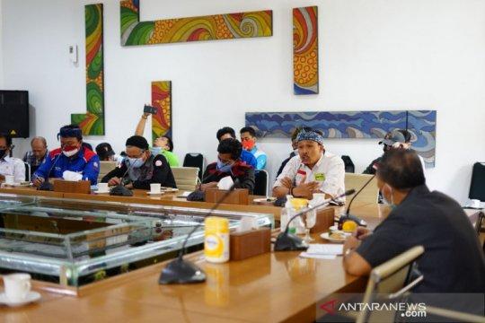 Tuntutan buruh di Bandung dijanjikan dibahas pada rapat pengupahan