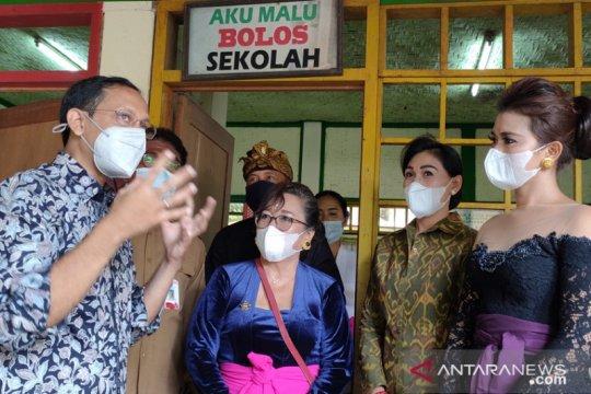 Mendikbud Nadiem kagumi TK berwawasan lingkungan di Ubud