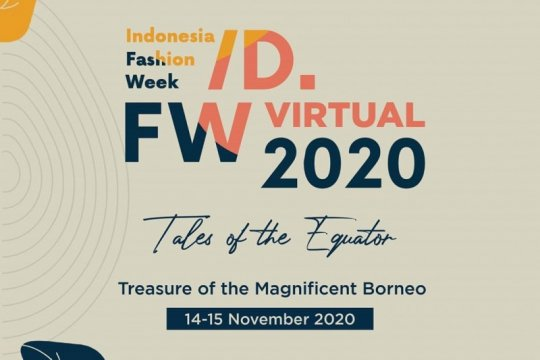Indonesia Fashion Week 2020 digelar virtual 14-15 November