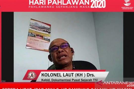 Pusjarah TNI: Generasi milenial alami distorsi nilai kepahlawanan