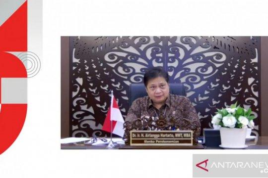 """Menko Airlangga: """"Fintech"""" punya andil besar dukung PEN"""