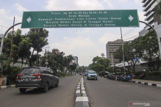 Pembatasan kendaraan sistem Ganjil Genap belum diberlakukan