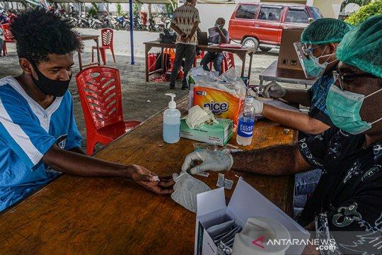 Tingkat kesembuhan pasien positif COVID-19 di Papua 67 persen