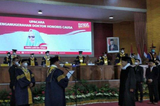 Habib Lutfi peroleh gelar doktor honoris causa dari Unnes