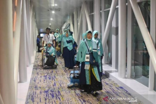 Ada maskapai ajukan terbang umrah di Bandara Kualanamu