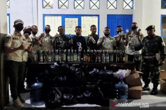 Satpol PP Cianjur sita seribuan butir obat terlarang dan minuman keras
